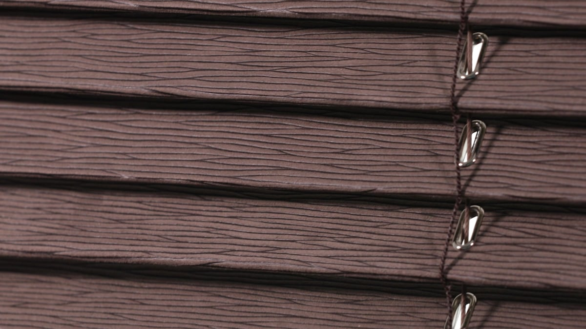 SG Faux Leather Venetian Blinds grain