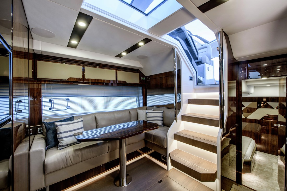 SG Venetian Blinds in yacht galley