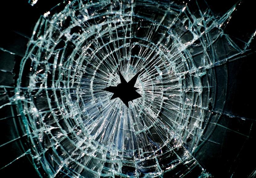 SG Safety Film Fractured Window