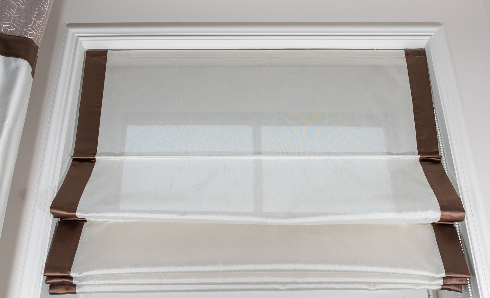 Solarglide SG Roman Blinds dimout material