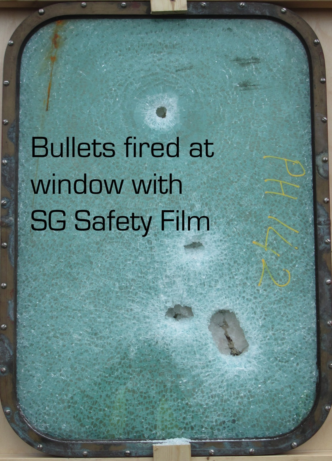 Window with SG Safety Film