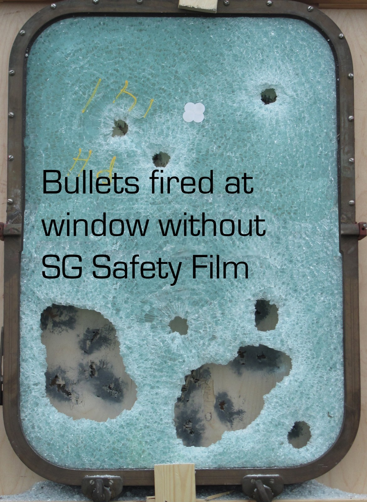 Window without SG Safety Film