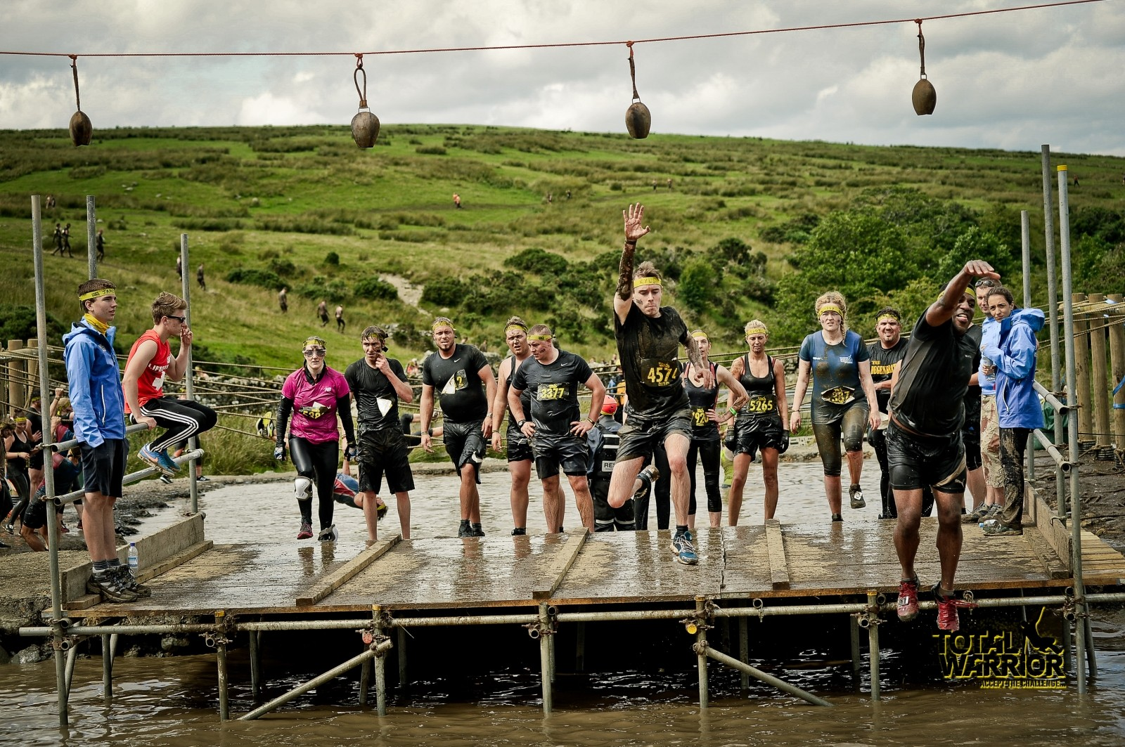 Kyle at Total Warrior